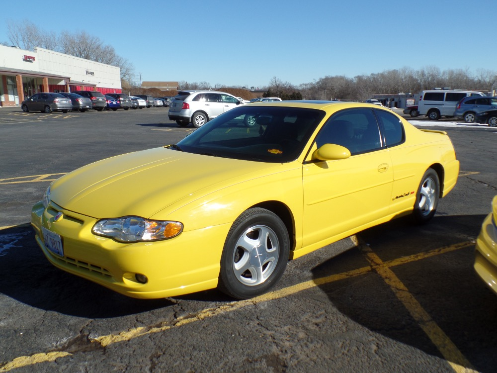 2003 chevrolet monte carlo ss one owner only 39 992 miles stock 78cv for sale near mundelein. Black Bedroom Furniture Sets. Home Design Ideas