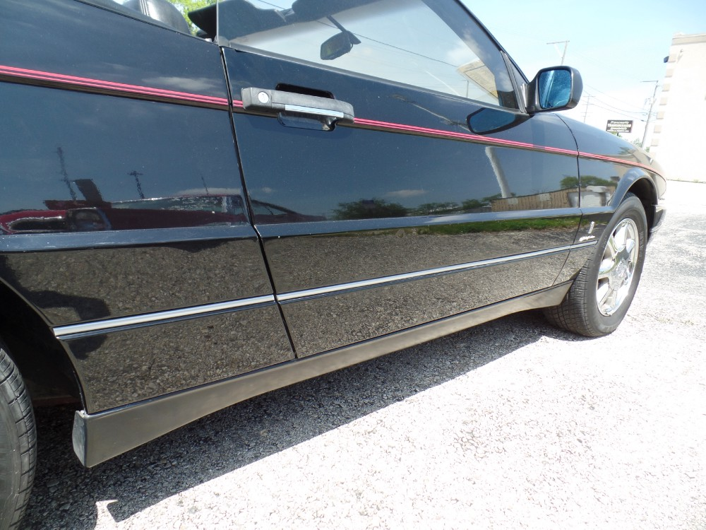 Used 1993 Cadillac Allante OVER $62,000 WHEN NEW-CONVERTIBLE LUXURY FUN! TRIPLE BLACK | Mundelein, IL