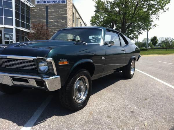 Used 1972 Chevrolet Nova SS 350 TRIBUTE RESTORED   Mundelein, IL