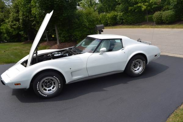 Used 1976 Chevrolet Corvette 86K ORIGINAL MILES-1500 MILES ON COMPLETE REBUILD! T-TOPS! SHARP! | Mundelein, IL