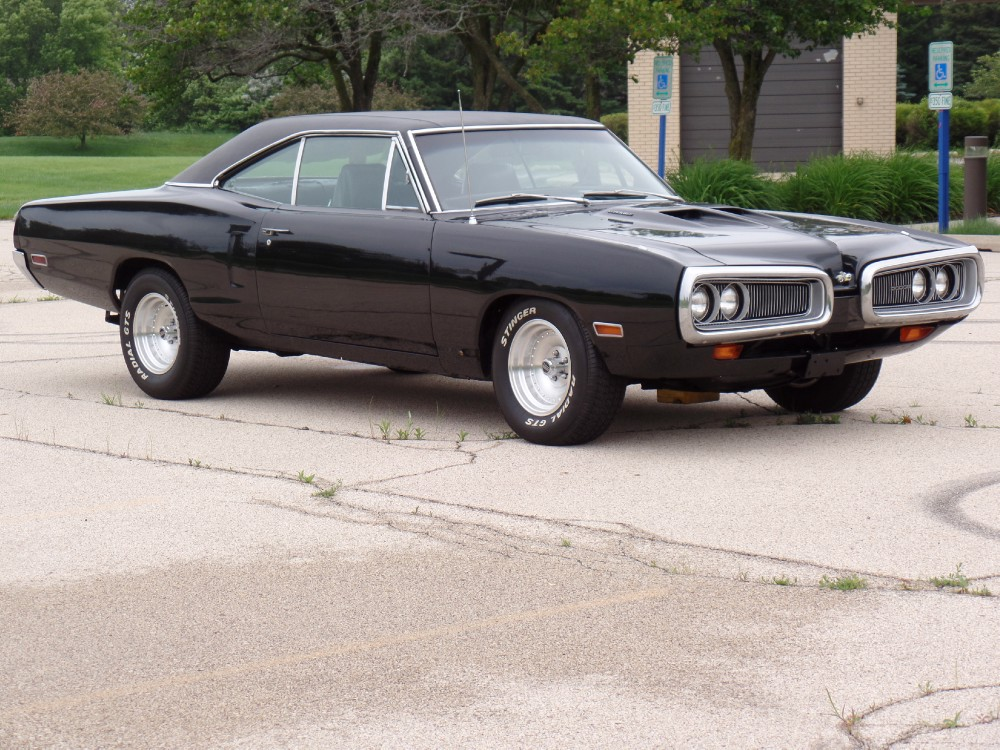 1970 dodge coronet super bee look 440 black beast ready for the streets stock 19950nsc for Big Truck Gas Can does manual save more gas