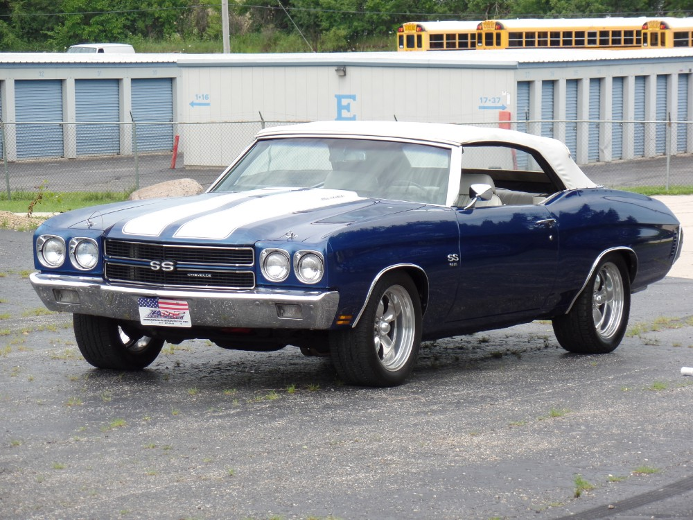 Used 1970 Chevrolet Chevelle ONLY 7511 convertible WERE EVER BUILT-BEST COLOR COMBO-SEE VIDEO | Mundelein, IL