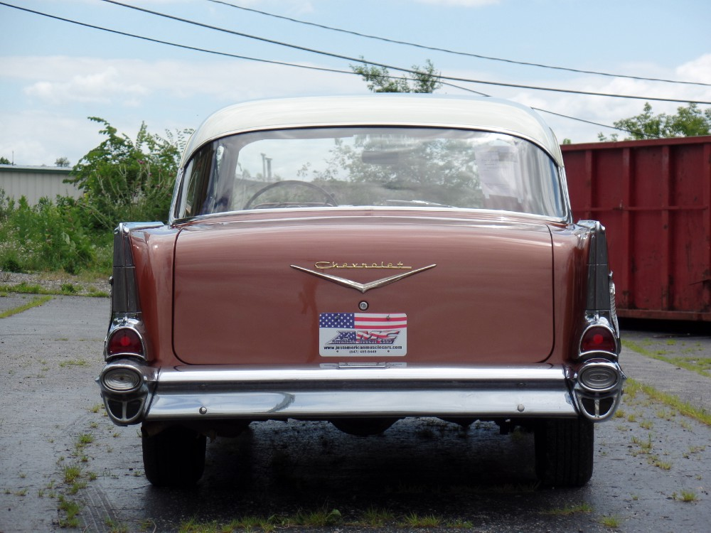 Used 1957 Chevrolet Bel Air UNMELOSTED-2 OWNER-ALL ORIGINAL TRI FIVE-SEE VIDEO   Mundelein, IL