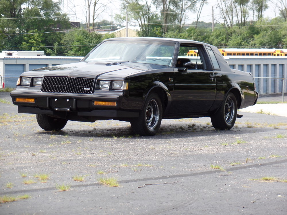 Used 1987 Buick Grand National SOLID 2 OWNER ORIGINAL HARDTOP-CLEAN CARFAX REPORT-SEE VIDEO-PRICED TO SELL | Mundelein, IL