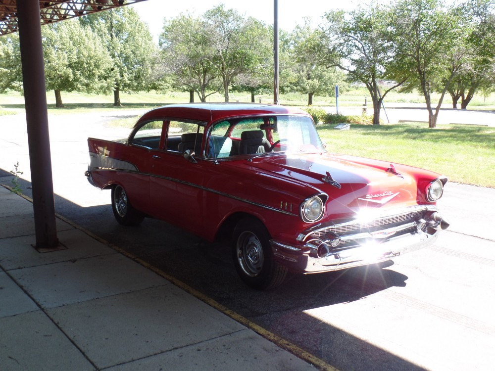 Used 1957 Chevrolet Bel Air RESTORED BODY-NEW PAINT-NICE TRI FIVE CHEVY-SEE VIDEO | Mundelein, IL
