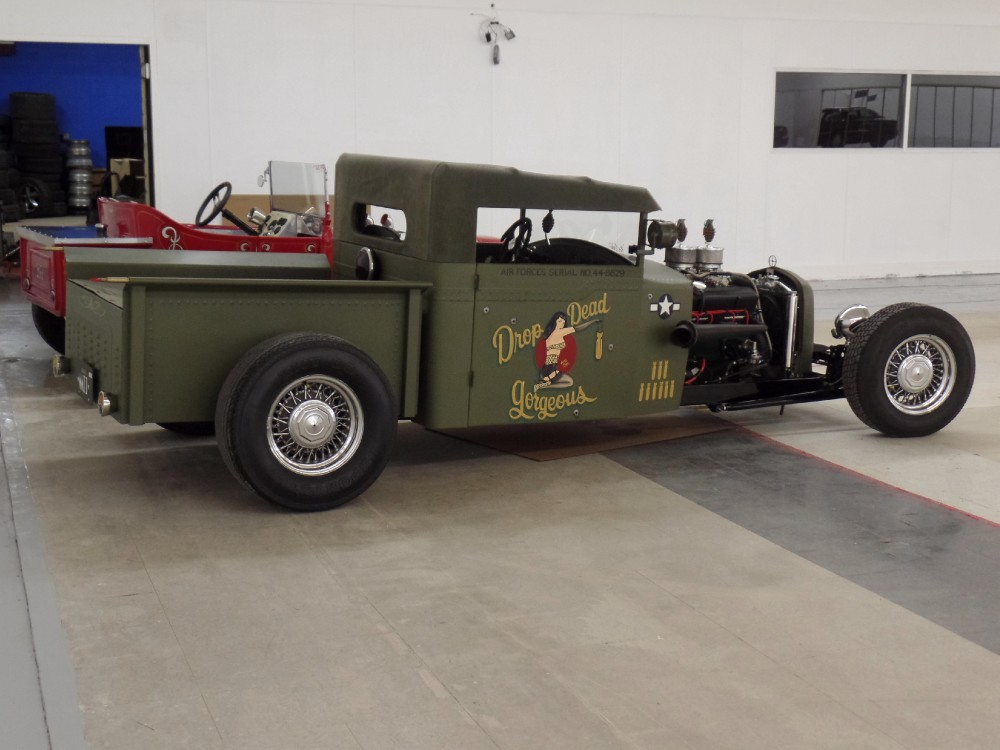 1931 Ford Model A MODEL A STREET ROD WWII BOMBER PLANE INSPIRED ...