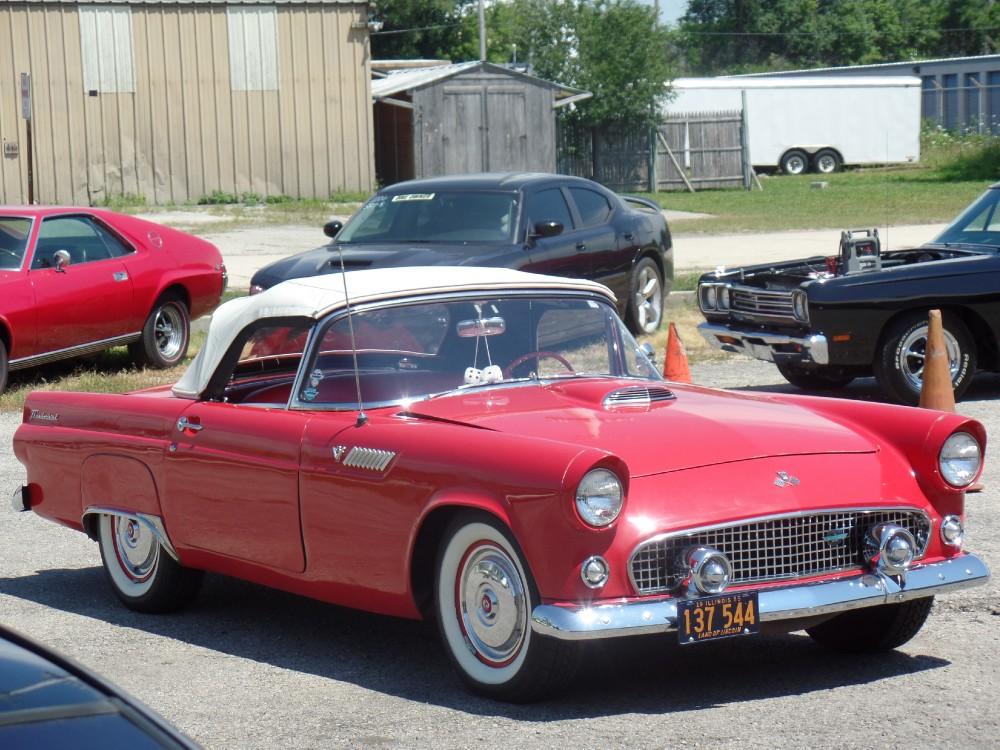 Used 1955 Ford Thunderbird NICE CONDITION T BIRD-WITH WORKING AC -PRICED TO SELL- | Mundelein, IL