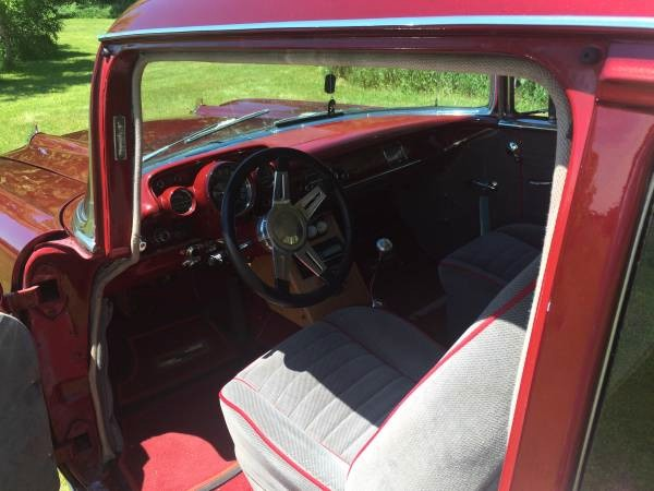 Used 1957 Chevrolet Bel Air GORGEOUS CANDY RED BEL AIR! NEEDS NOTHING! | Mundelein, IL