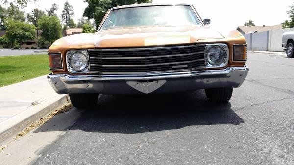 Used 1972 Chevrolet Chevelle ROCK SOLID RUST FREE ARIZONA-NUMBERS MATCHING   Mundelein, IL