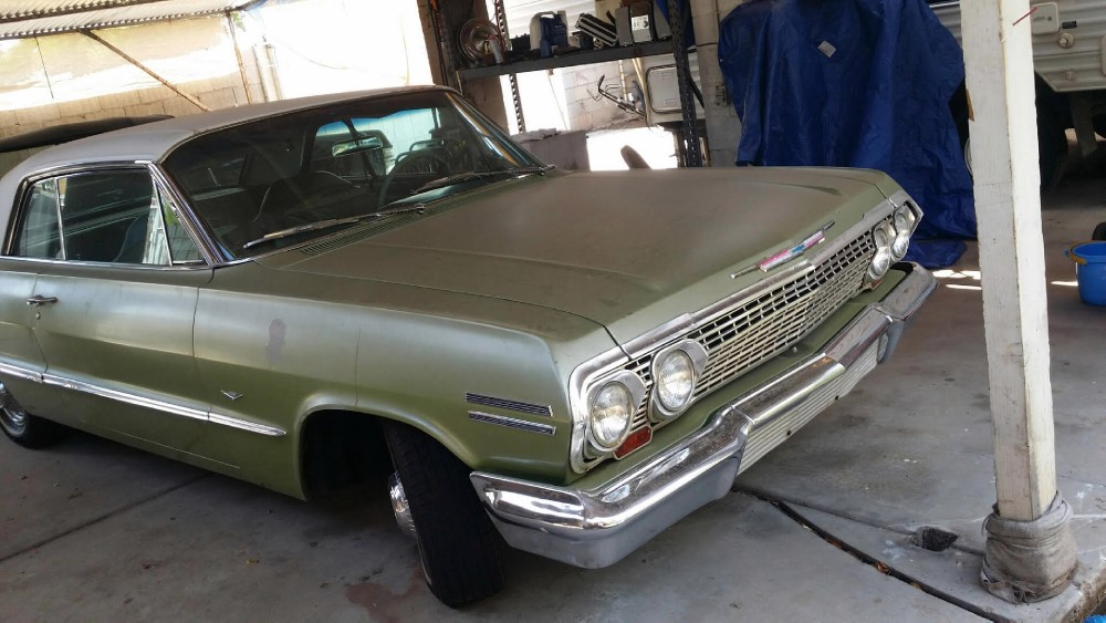 Used 1963 Chevrolet Impala SOLID AND DRY ARIZONA IMPALA! | Mundelein, IL