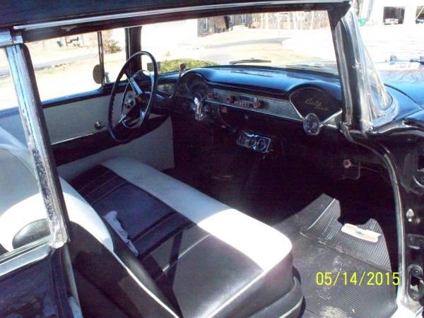 Used 1956 Chevrolet Bel air BLACK HARD TOP | Mundelein, IL