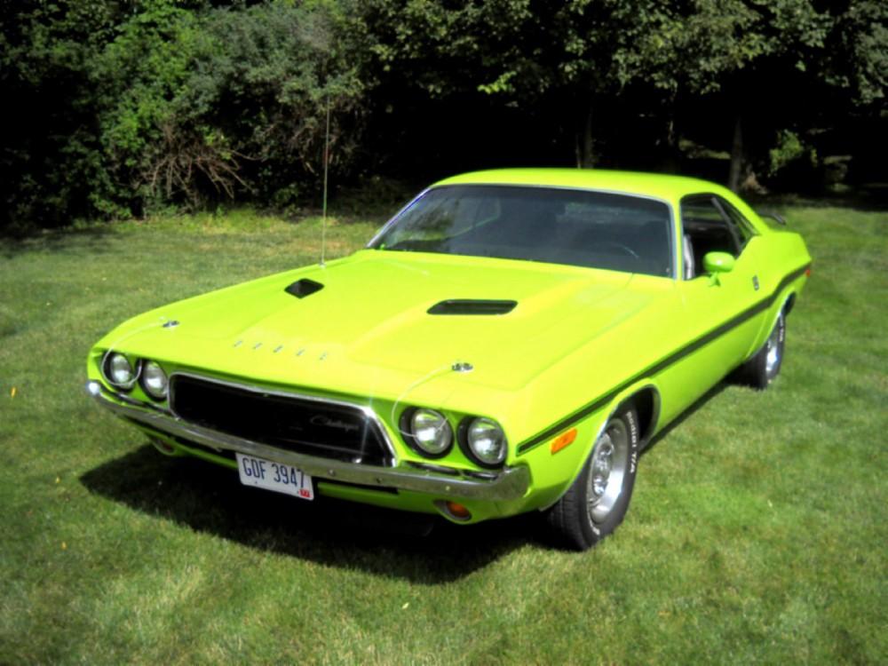Used 1972 Dodge Challenger Rallye 43k Miles Rebuilt 360 Nice Sublime Green - Drive Home   Mundelein, IL