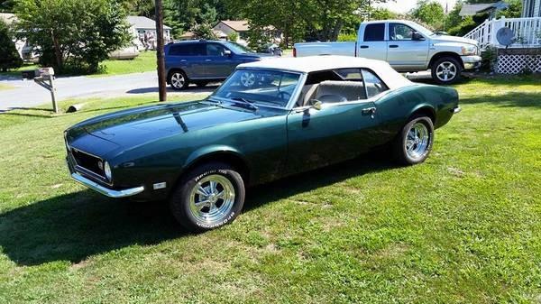 Used 1968 Chevrolet Camaro DEEP GREEN CONVERTIBLE | Mundelein, IL