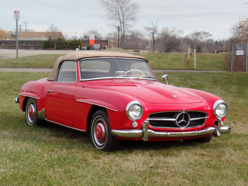 1956 mercedes benz 190sl new low price roadster just in for Low price mercedes benz
