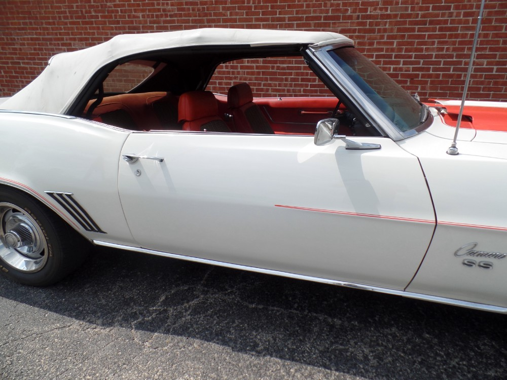 Used 1969 Chevrolet Camaro Z11--RS/SS INDIANAPOLIS PACE CAR CONVERTIBLE L48-NUMBERS MATCHING   Mundelein, IL
