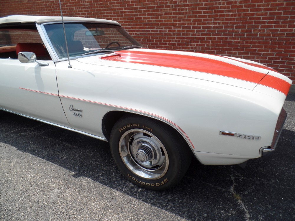 Used 1969 Chevrolet Camaro Z11--RS/SS INDIANAPOLIS PACE CAR CONVERTIBLE L48-NUMBERS MATCHING | Mundelein, IL