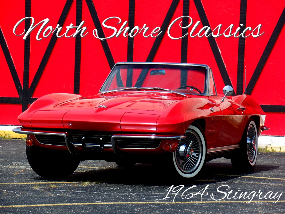 Used 1964 Chevrolet Corvette STINGRAY CONVERTIBLE-VERY NICE-SEE VIDEO | Mundelein, IL