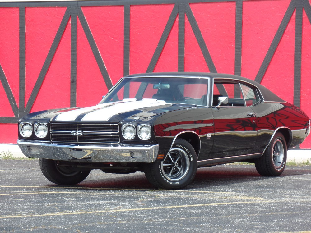 Used 1970 Chevrolet Chevelle SS454-DOCUMENTED FRAME OFF 2015-BUILD SHEET-REAL SS-SEE VIDEO | Mundelein, IL