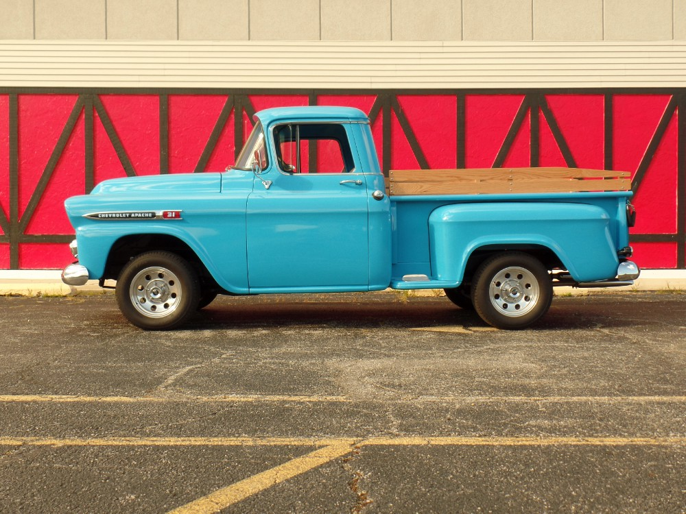 Used 1959 Chevrolet Apache FRAME OFF PRISTINE RESTORED CONDITION-SEE VIDEO | Mundelein, IL