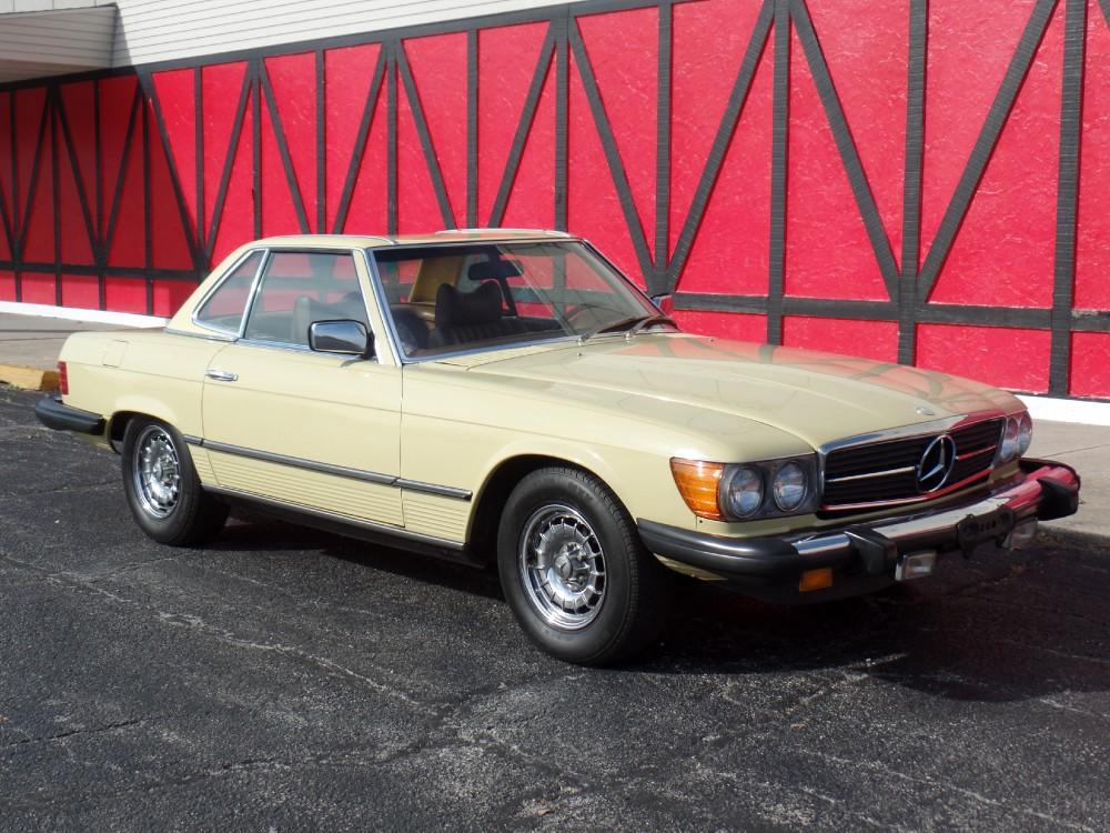 1979 mercedes benz 450sl garage kept stock 8579ilrp for for Nearest mercedes benz