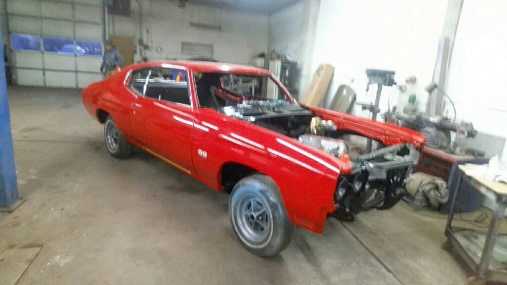 Used 1970 Chevrolet Chevelle SS-JUST COMPLETED NEW BUILD-MADE IN CANADA-VIPER RED-SEE VIDEO | Mundelein, IL