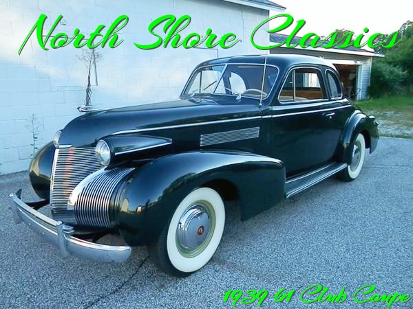 Used 1939 Cadillac 61 Club Coupe In Show Condition | Mundelein, IL