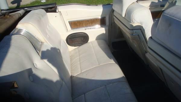 Used 1970 Cadillac Coupe DeVille Triple White Classic Cadi Convertible | Mundelein, IL