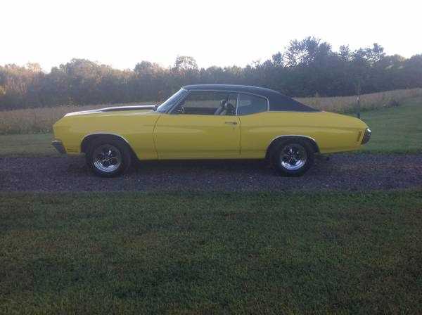 Used 1970 Chevrolet Chevelle EYE POPPING CAR-STUNNING!- BUMBLE BEE | Mundelein, IL