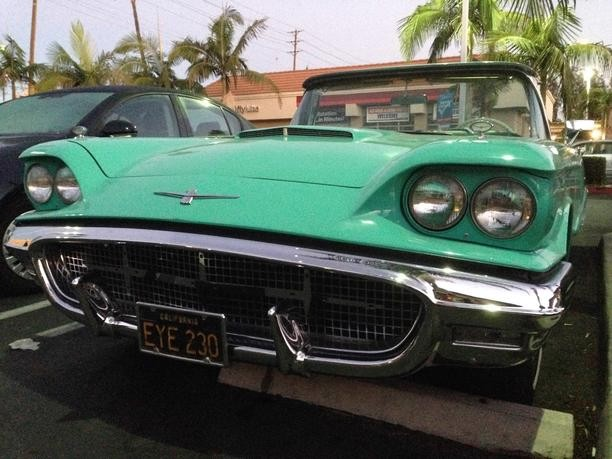 1960 ford thunderbird roadster parade car from southern california owned by sonny bono stock. Black Bedroom Furniture Sets. Home Design Ideas
