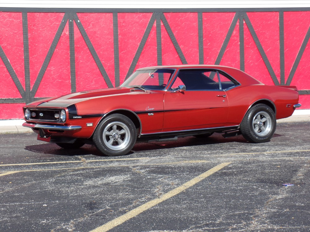 Used 1968 Chevrolet Camaro SS-BIG BLOCK 396 WITH 4 SPEED-WOW!-SEE VIDEO | Mundelein, IL