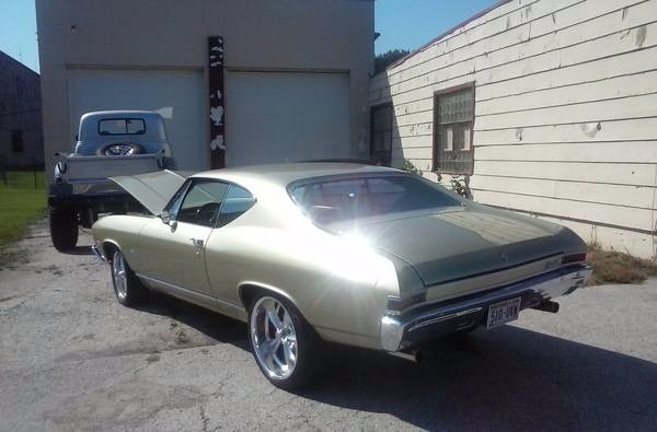 Used 1968 Chevrolet Chevelle Malibu - BEAUTIFUL MILD MODIFIED- AIR RIDE | Mundelein, IL