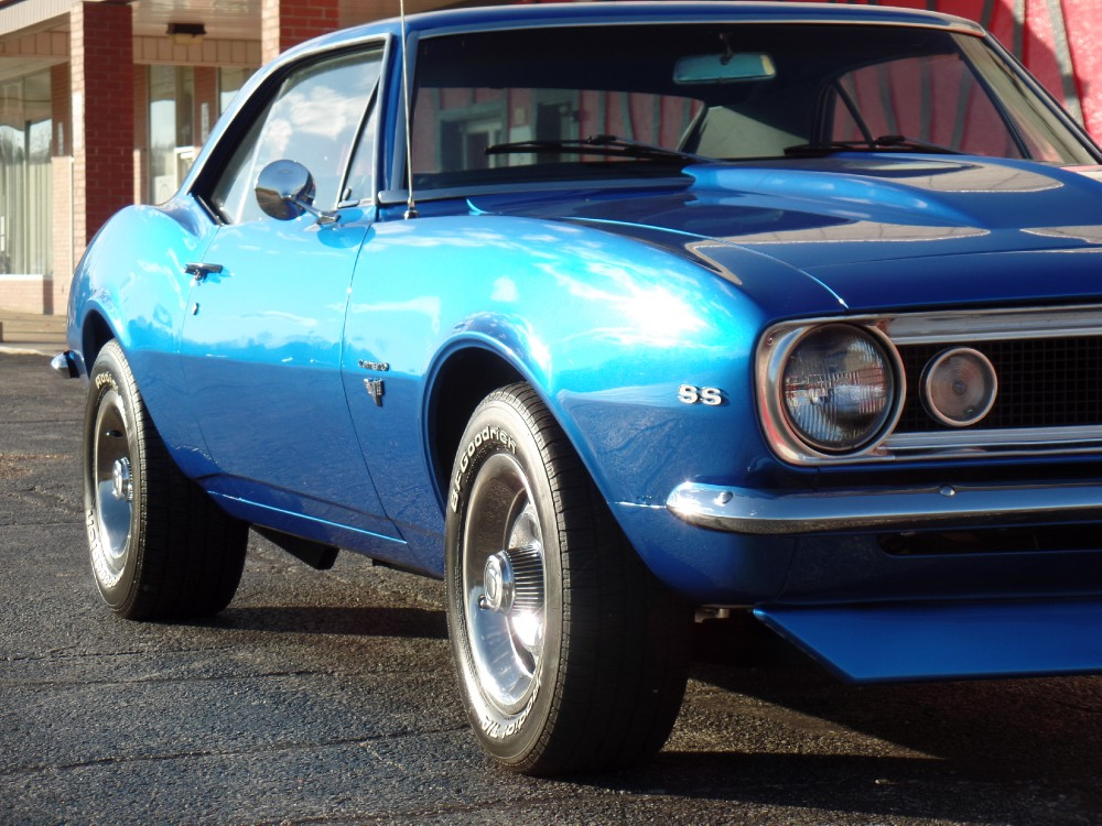Used 1967 Chevrolet Camaro REAL SS-SUPER SPORT-PEARL BLUE RESTORED-REAL NICE-SEE VIDEO | Mundelein, IL