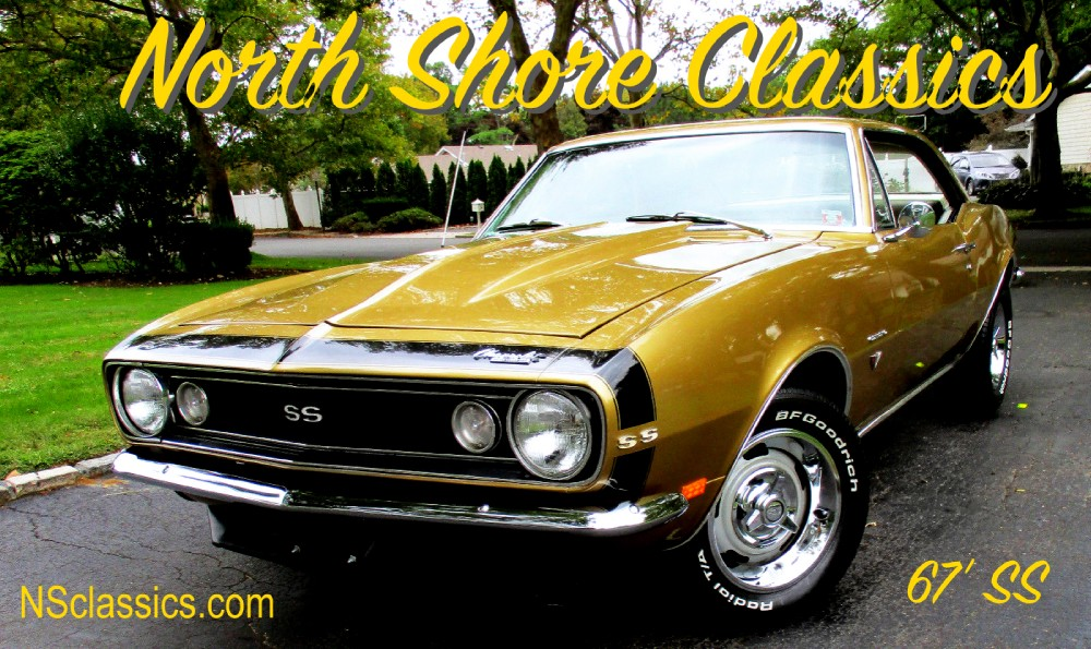 1967 Chevrolet Camaro Ss Appearance Rare Color Combo Ac See Video