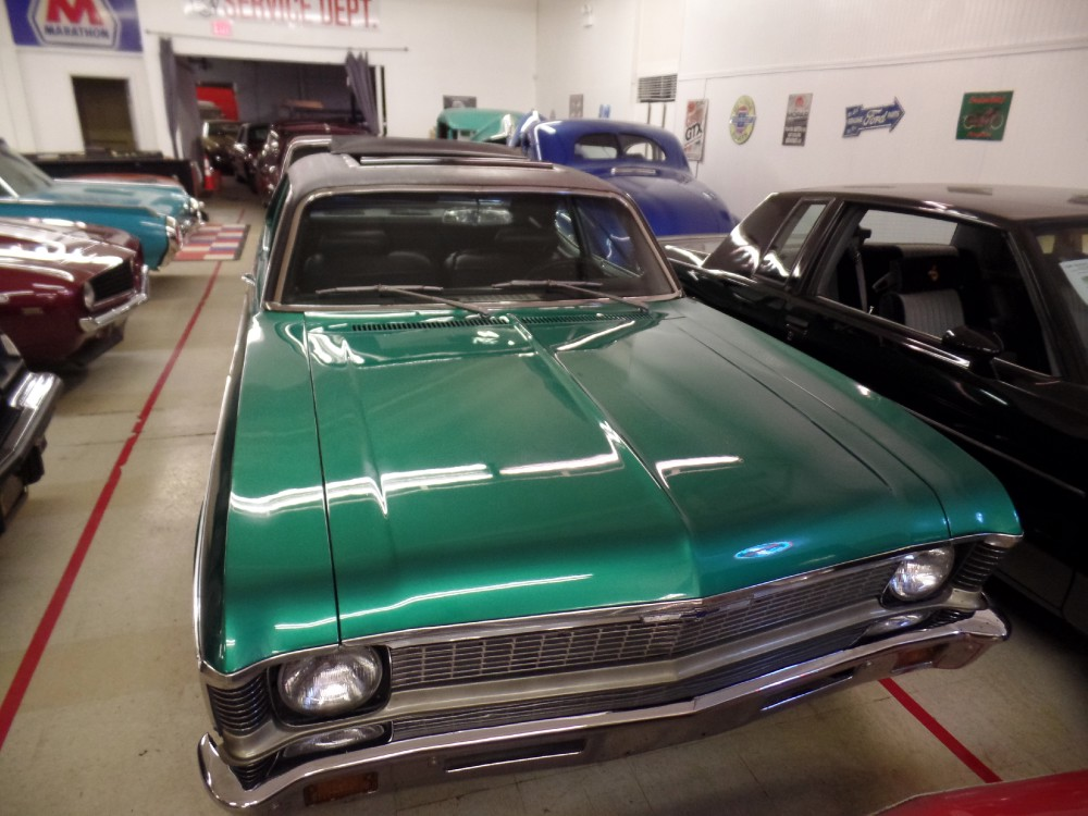 Used 1972 Chevrolet Nova -RESTORED DOCUMENTED RARE 1 OF 554 IN SPRING GREEN-FACTORY CAR | Mundelein, IL