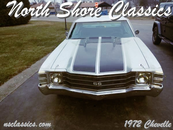 Used 1972 Chevrolet Chevelle NICE '72 SS TRIBUTE-BIG BLOCK | Mundelein, IL