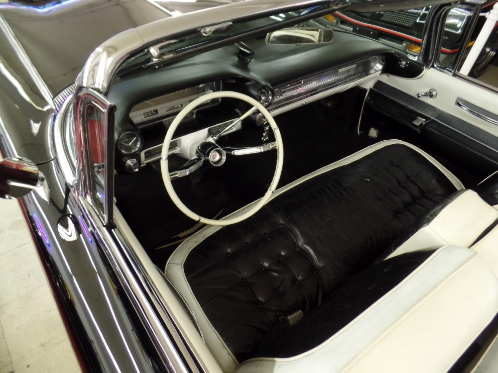 Used 1960 Cadillac Series 62 TRIPLE BLACK 6TH GENERATION CONVERTIBLE-original car | Mundelein, IL