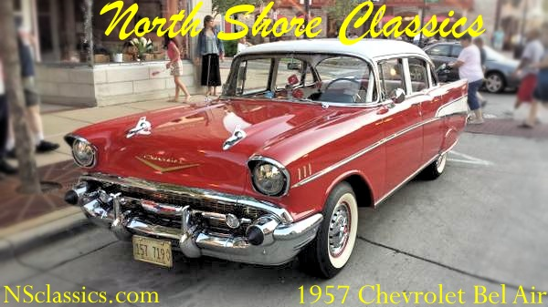 Used 1957 Chevrolet Bel Air FREE SHIPPING | Mundelein, IL