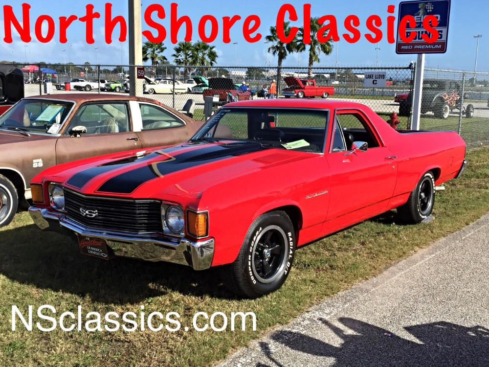 Used 1972 Chevrolet El Camino RESTORED CONDITION-WITH AC- VERY STRAIGHT-FROM ALABAMA | Mundelein, IL