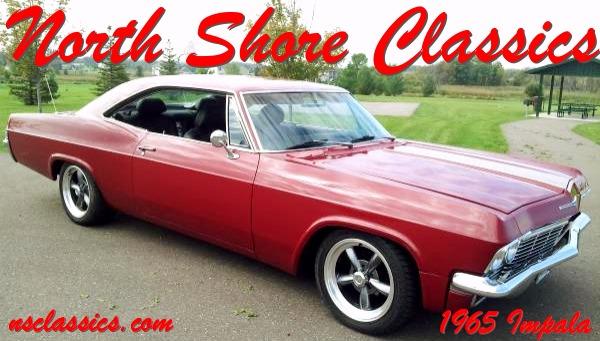 Used 1965 Chevrolet Impala BIG BLOCK RED ROCKET RESTOMOD!   Mundelein, IL
