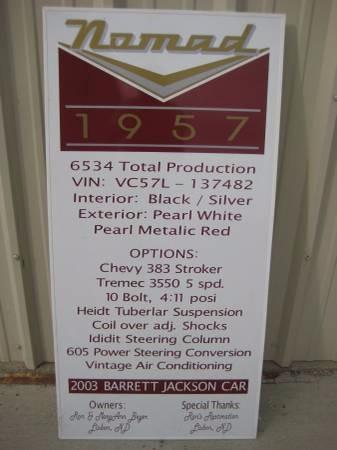 Used 1957 Chevrolet Nomad RUST FREE! | Mundelein, IL