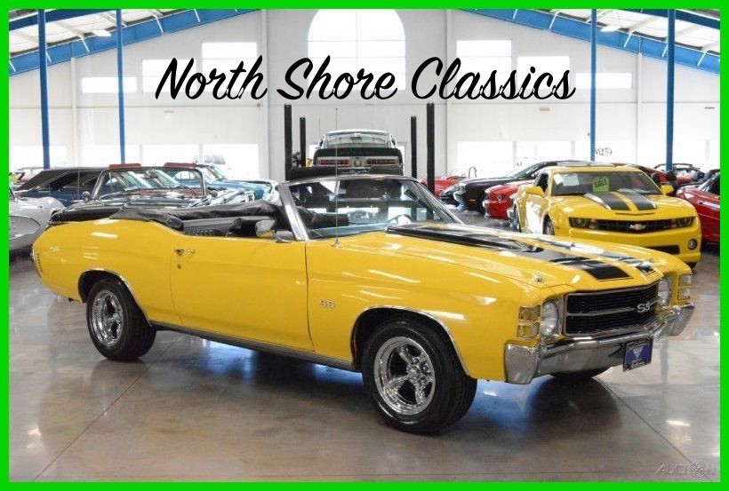Used 1971 Chevrolet Chevelle SS Apprearance Package CONVERTIBLE-Amazing NEW Price! | Mundelein, IL