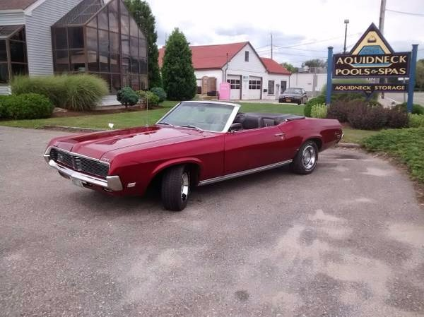 Used 1969 Mercury Cougar Convertable . Complete set of service Manuals | Mundelein, IL