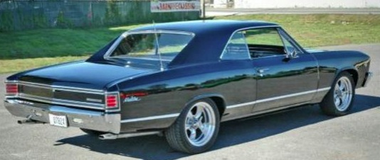 Used 1967 Chevrolet Chevelle Black on Black | Mundelein, IL