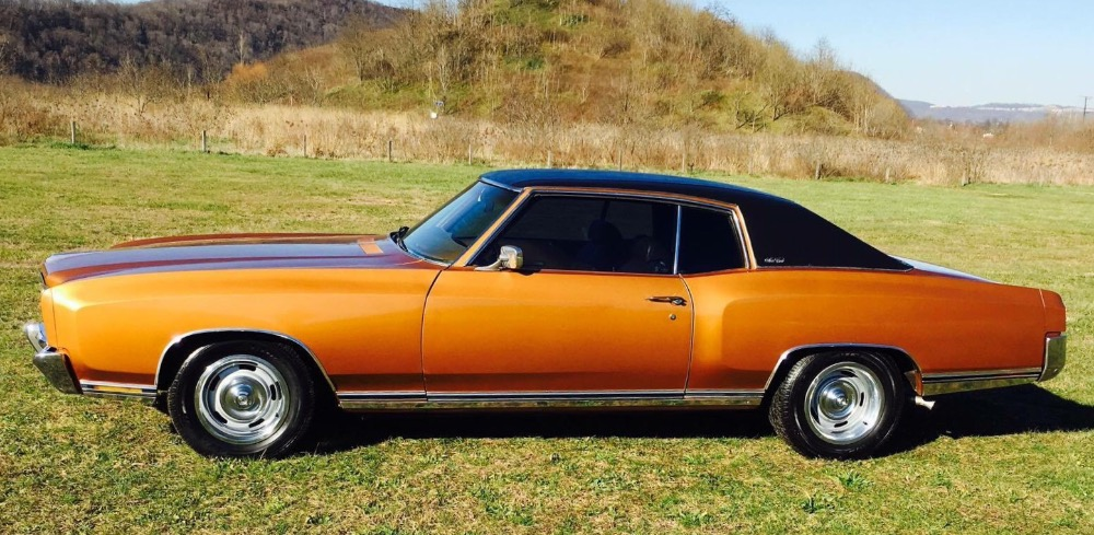 Used 1972 Chevrolet Monte Carlo Super Clean from Tennessee-VERY SOLID H CODE CAR | Mundelein, IL