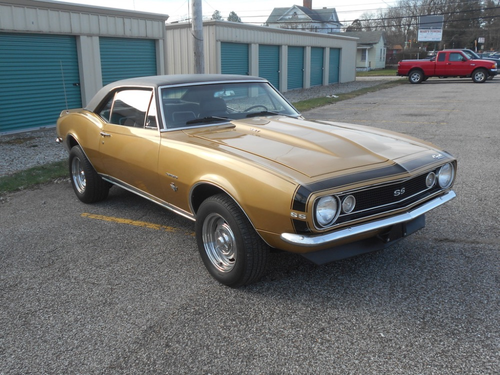Used 1967 Chevrolet Camaro SS badges-ACTUAL 26,000 PA MILES-Factory V8-code 24-SEE VIDEO | Mundelein, IL