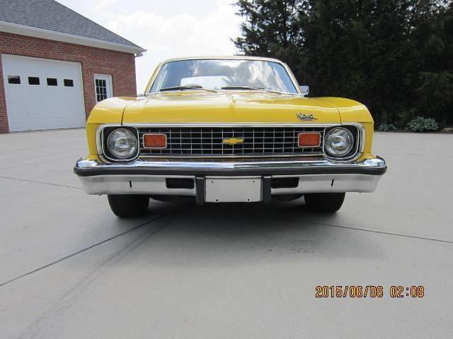 Used 1974 Chevrolet Nova CUSTOM HATCHBACK CLASSIC CAR YELLOW AUTOMATIC | Mundelein, IL