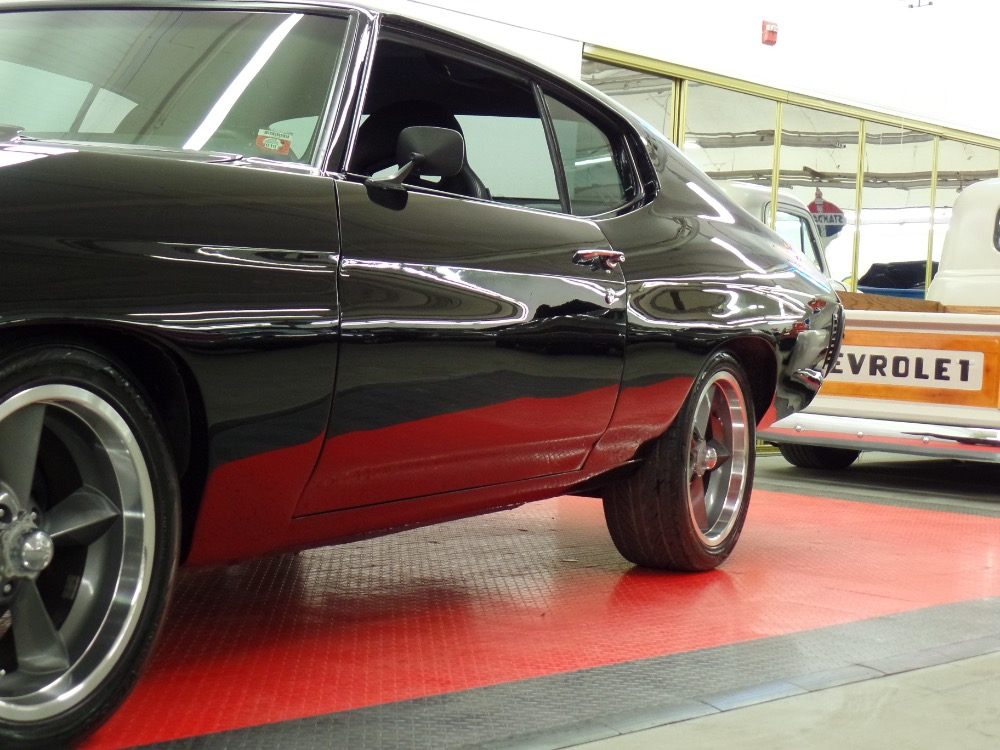 Used 1970 Chevrolet Chevelle LSX-NEW BLACK ONYX PAINT-Vortec Fuel injected Pro Touring-SEE VIDEO | Mundelein, IL