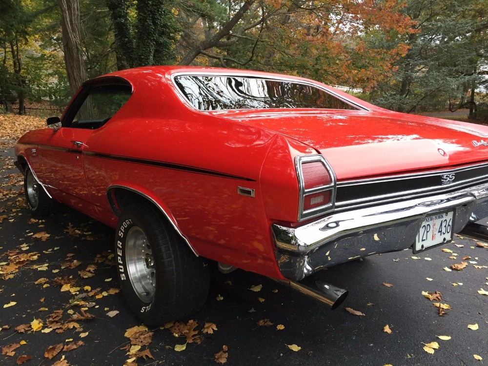 Used 1969 Chevrolet Chevelle SS-Appearance-Nice Red Paint | Mundelein, IL