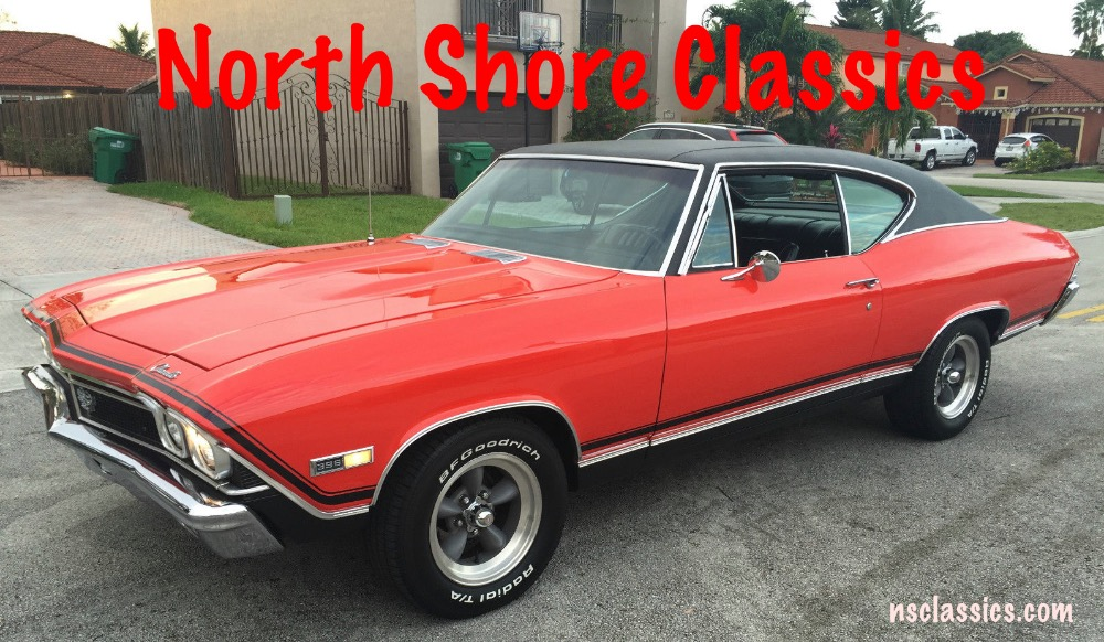 Used 1968 Chevrolet Chevelle Real SS396-NUMBERS MATCHING BIG BLOCK-WORKING AC-SEE VIDEO | Mundelein, IL