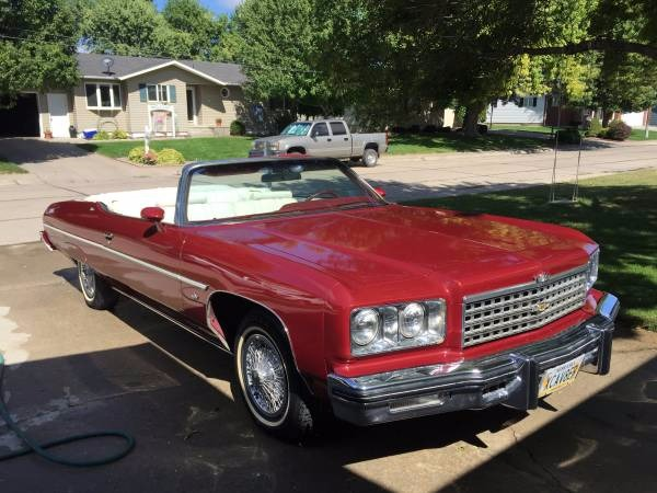 Used 1975 Chevrolet Caprice Classic CLASSIC CONVERTIBLE | Mundelein, IL